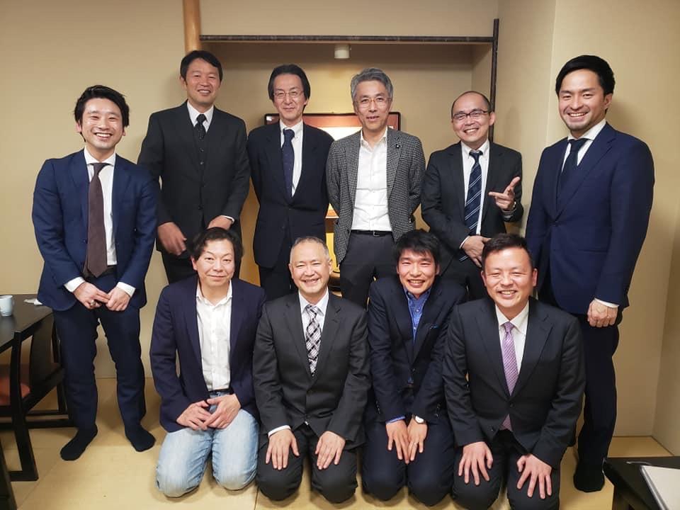 長崎大学 歯学部 創立40周年記念 講演会 教授と演者の先生方と