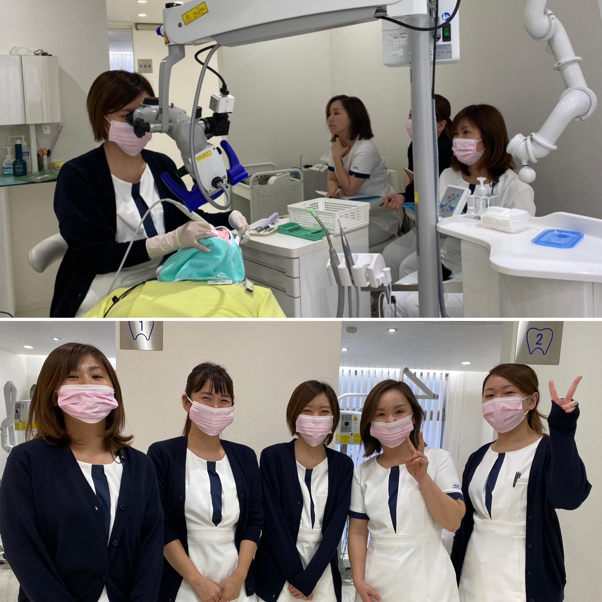 生月 歯医者 歯科衛生士 予防 手術用顕微鏡 マイクロスコープ 秋山先生 直視 2