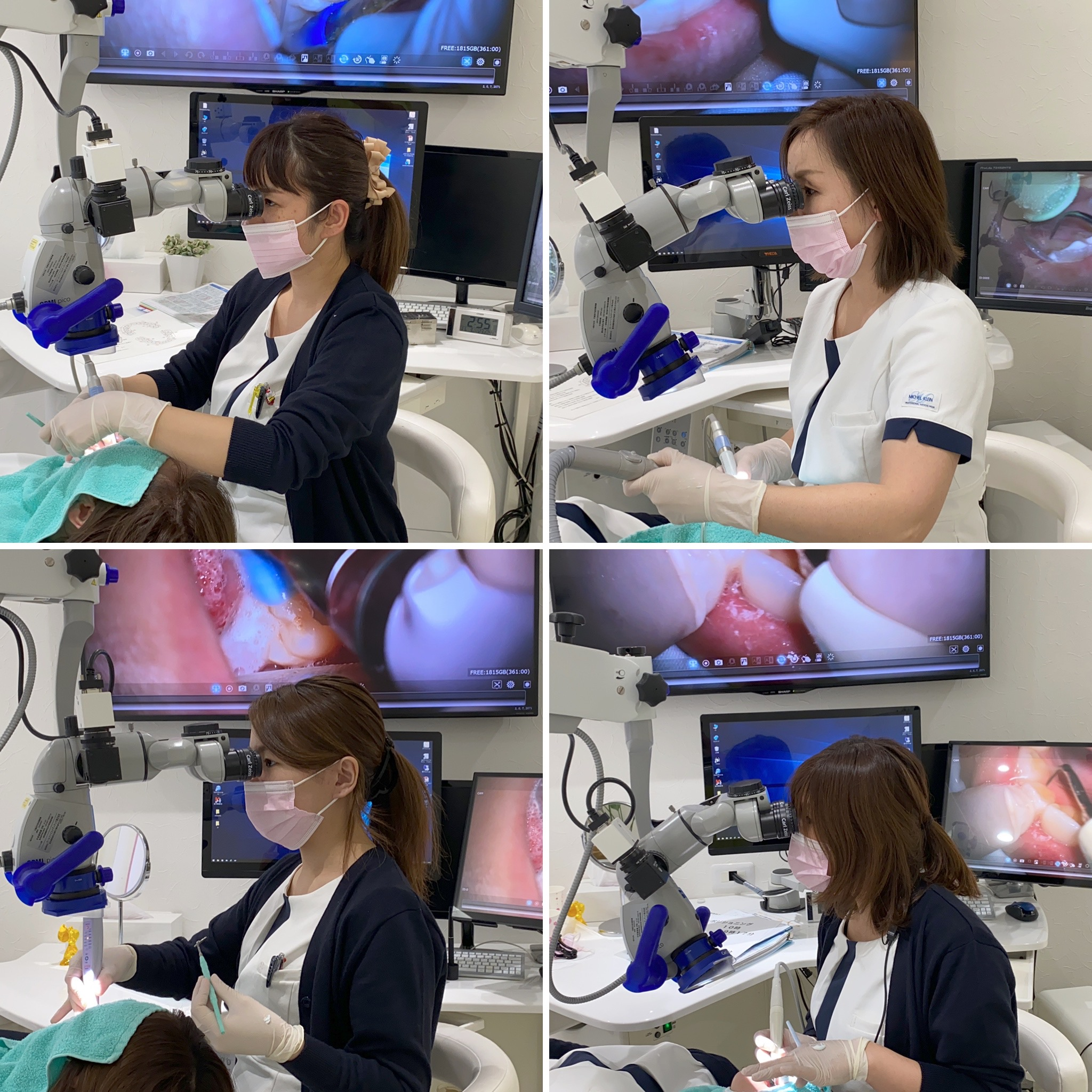 生月 歯医者 歯科衛生士 予防 手術用顕微鏡 マイクロスコープ 秋山先生 直視 1